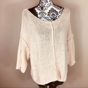 Aerie open knit sweater